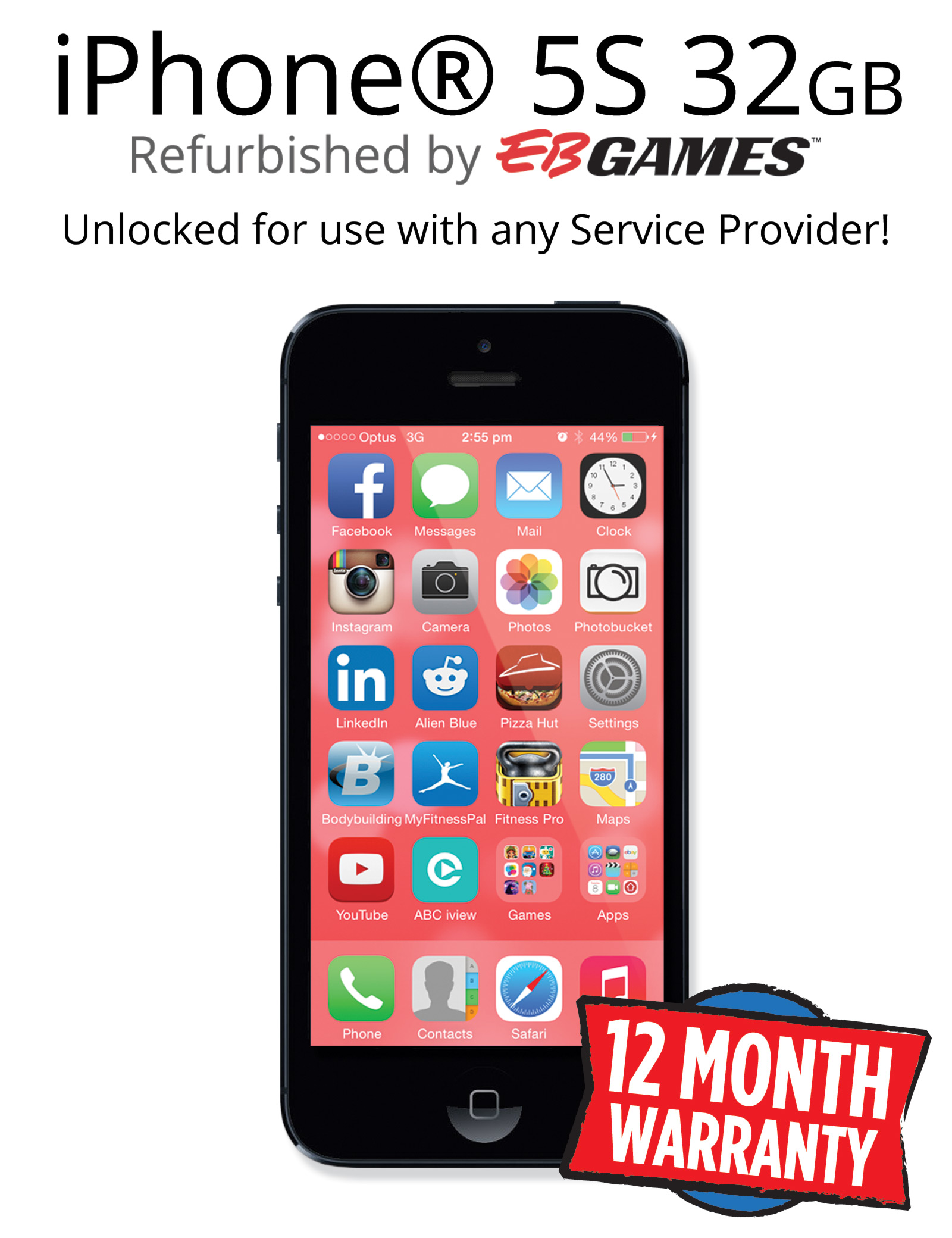 iphone 5 refurbished unlocked iphone 5s 32gb unlocked black refurbished iphone ebay 5576
