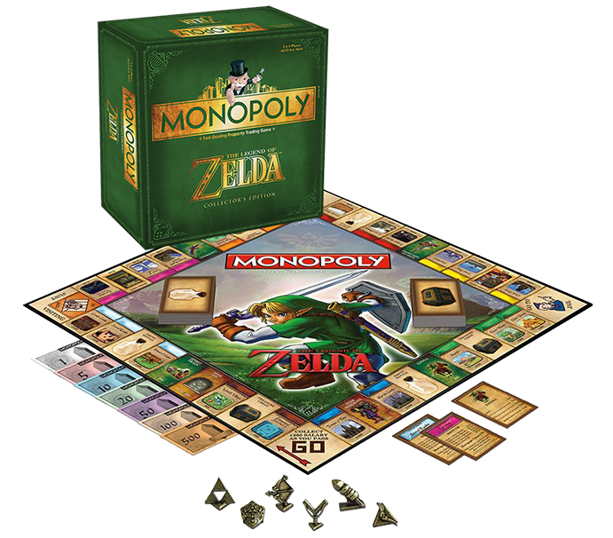 Monopoly The Legend Of Zelda Collector S Edition Eb Games Australia