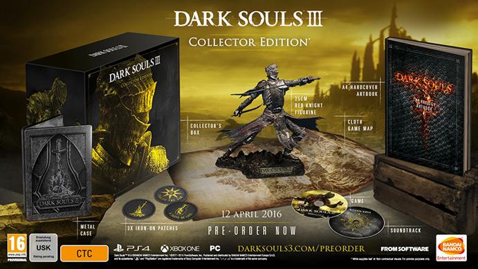 CollectorsEditionorg Dark Souls III Collectors Edition PS4