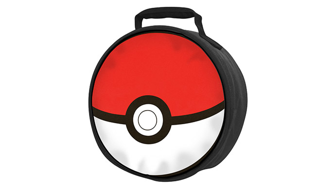 Pokemon Pokeball Lunch Bag Zing Pop Culture