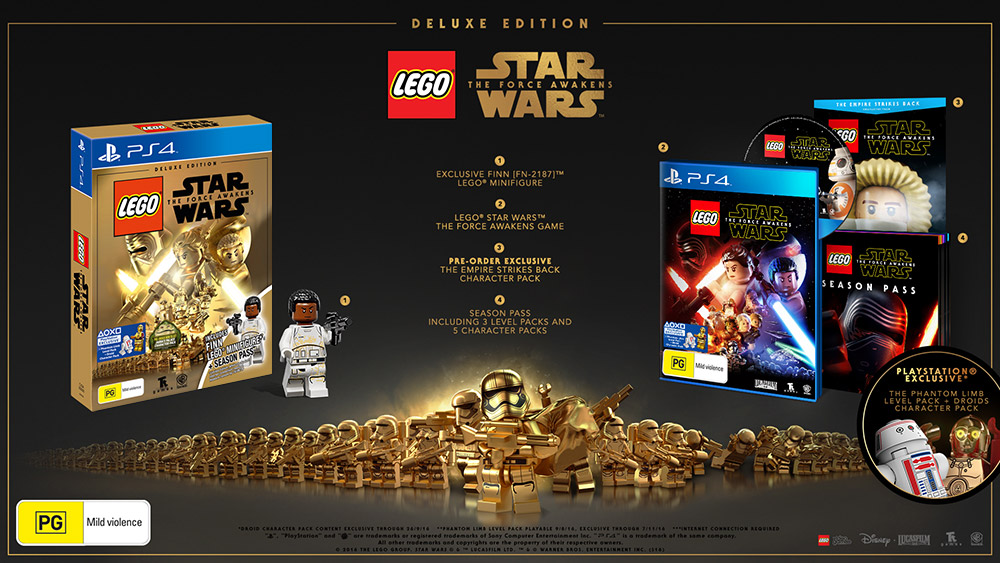 LEGO Star Wars: The Force Awakens Deluxe Edition - EB Games Australia