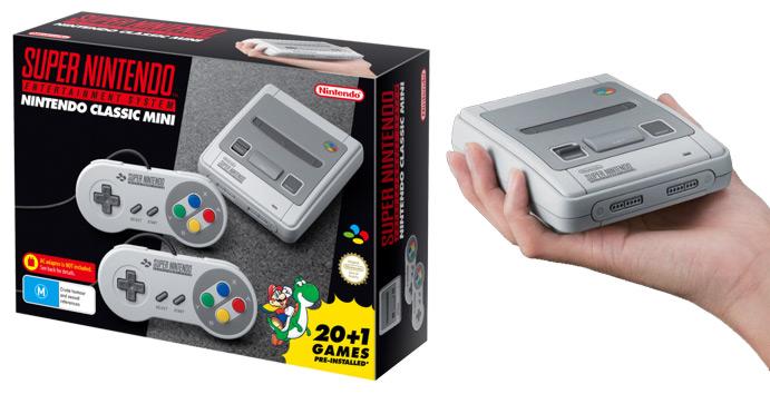 nintendo classic mini super nintendo entertainment system eb