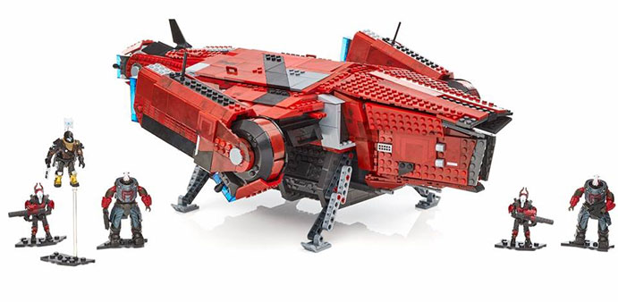 dbfd8365ce0 The hordes of the Red Legion are ready to deploy from their massive  Harvester Dropship. But while the Cabal foes advance