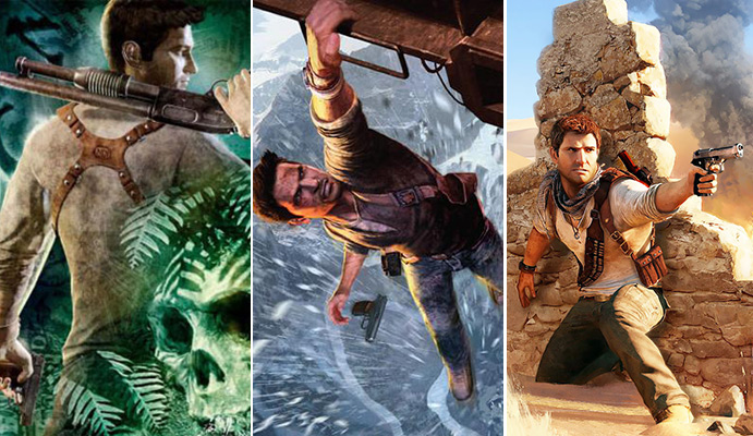 UNCHARTED: The Nathan Drake Collection includes the single-player campaigns for: