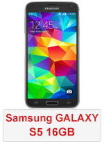 Samsung Galaxy S5 - 16GB Black