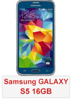 Samsung Galaxy S5 - 16GB Blue