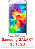 Samsung Galaxy S5 - 16GB White