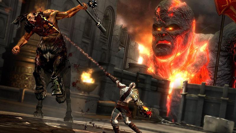 Pertarungan paling keren di god of war